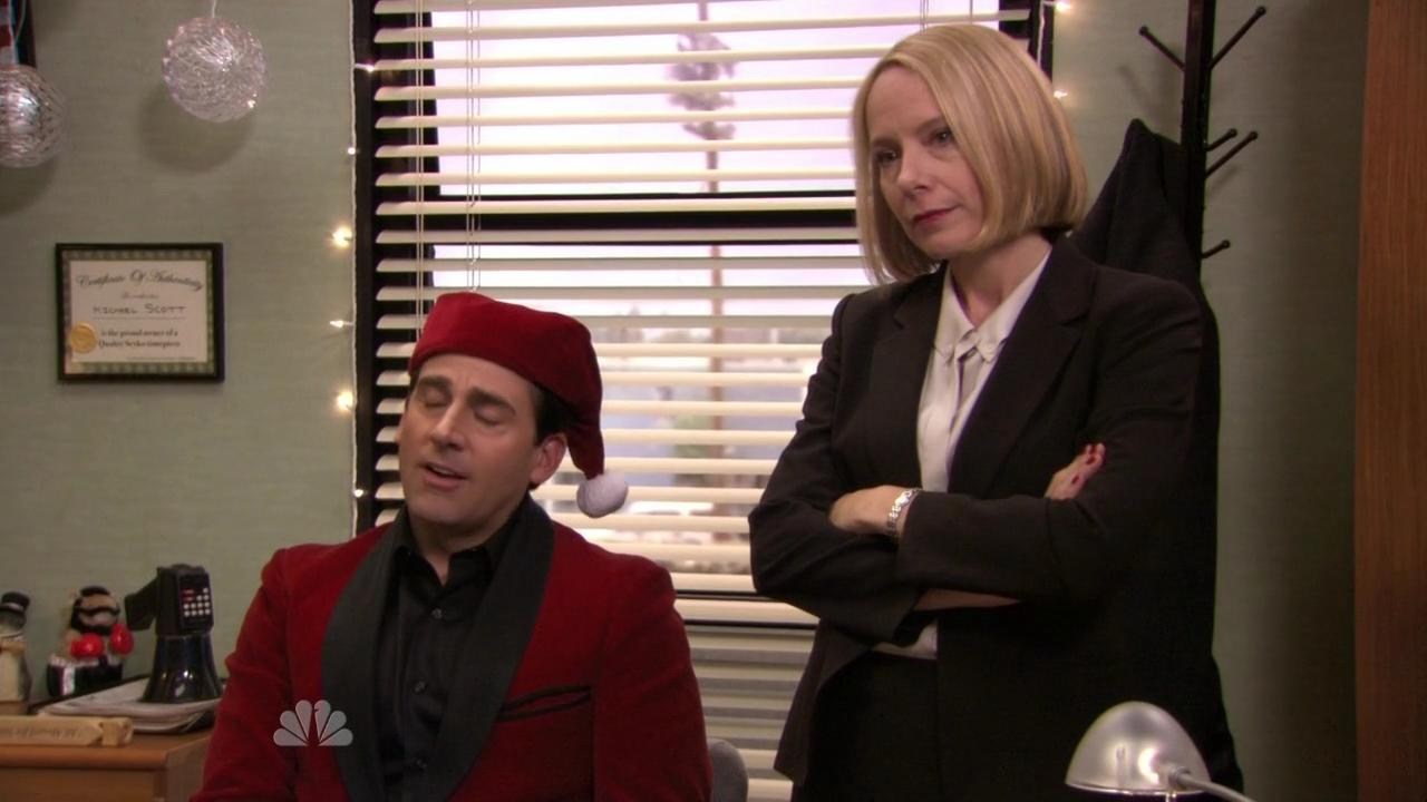the office 7x11 classy christmas srie manacos - The Office Classy Christmas