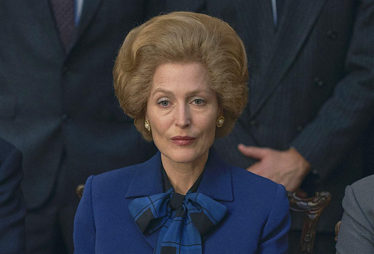 Gillian Anderson é Margaret Thatcher no novo trailer da 4ª temporada de 'The  Crown' – Série Maníacos